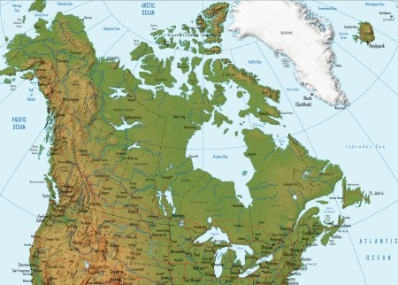 Maps of Canada