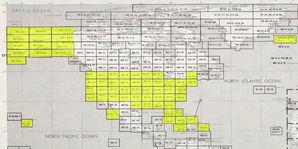 North America Index: International Map of the World IMW-IndexNAm