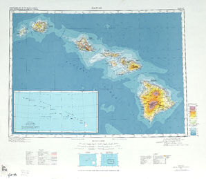 Hawaii: International Map of the World IMW-ne-nf-4