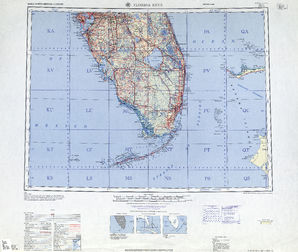 Florida Keys: International Map of the World IMW-ng-17