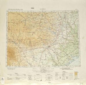 Austin: International Map of the World IMW-nh-14
