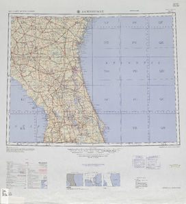 Jacksonville: International Map of the World IMW-nh-17