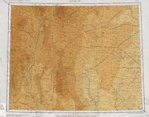Santa Fe: International Map of the World IMW-ni-13