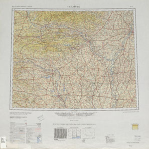 Vicksburg: International Map of the World IMW-ni-15