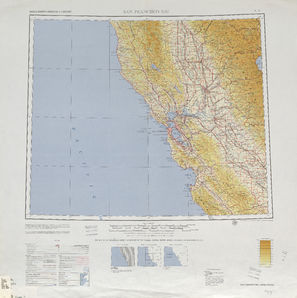 San Francisco Bay: International Map of the World IMW-nj-10