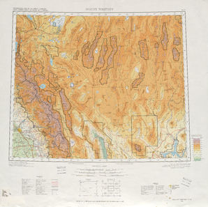 Mount Whitney: International Map of the World IMW-nj-11