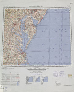 Chesapeake Bay: International Map of the World IMW-nj-18