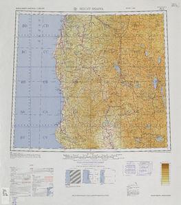 Mount Shasta Map - IMW