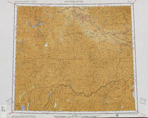 Owyhee River: International Map of the World IMW-nk-11