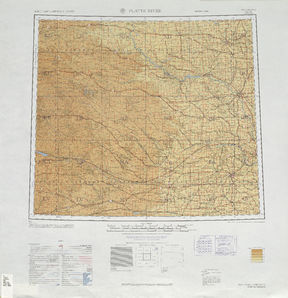Platte River: International Map of the World IMW-nk-14