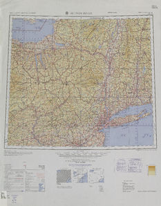 Hudson River: International Map of the World IMW-nk-18