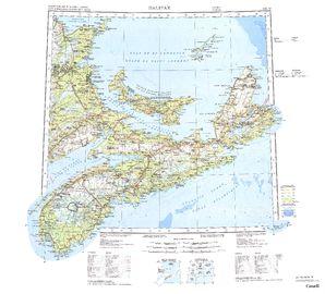 Halifax: International Map of the World IMW-nknl20