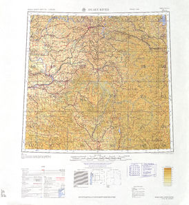 Snake River: International Map of the World IMW-nl-11