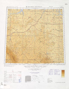 Big Horn Mountains Map - IMW