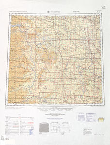 Dakotas: International Map of the World IMW-nl-14