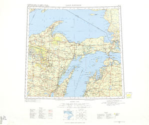 Lake Superior: International Map of the World IMW-nl-16