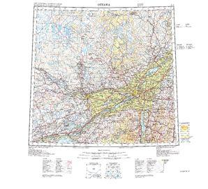 Ottawa: International Map of the World IMW-nl18