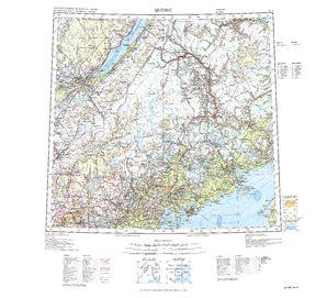 Quebec: International Map of the World IMW-nl19