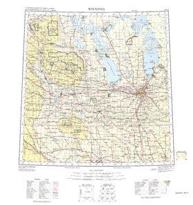 Winnipeg Map - IMW