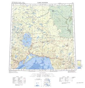 Lake Nipigon Map - IMW