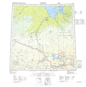 Timmins: International Map of the World IMW-nm17