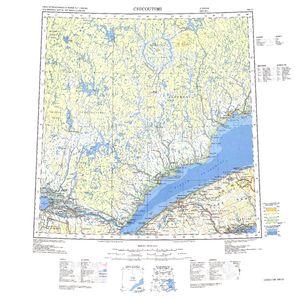 Chicoutimi Map - IMW