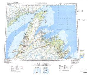 Corner Brook Map - IMW