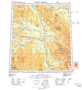 Prince George Map - IMW