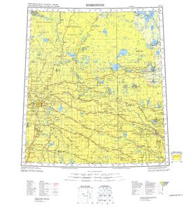 Edmonton: International Map of the World IMW-nn12