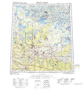 Prince Albert Map - IMW