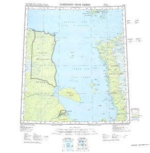 James Bay: International Map of the World IMW-nn17