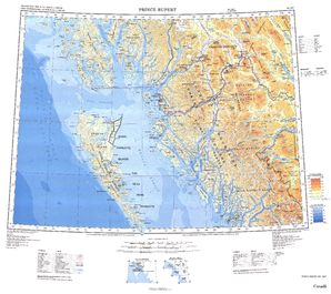 Prince Rupert Map - IMW