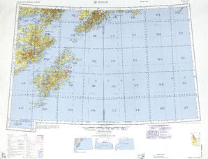 Kodiak: International Map of the World IMW-no-5-6
