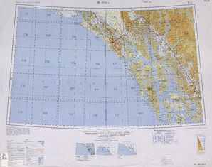 Sitka: International Map of the World IMW-no-7-8
