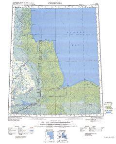 Churchill: International Map of the World IMW-no15