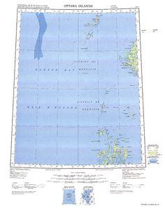 Ottawa Islands: International Map of the World IMW-no17