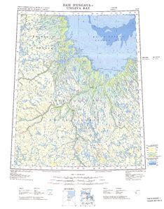 Ungava Bay Map - IMW