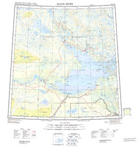 Slave River: International Map of the World IMW-np11_12