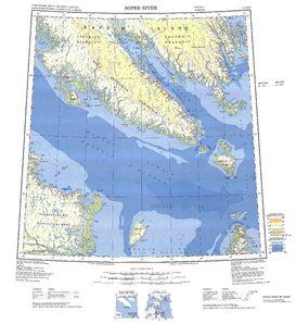 Soper River Map - IMW