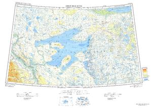 Great Bear River Map - IMW