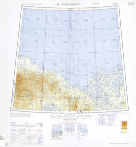Mackenzie Bay: International Map of the World IMW-nr-7-8