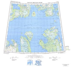 Viscount Melville Sound: International Map of the World IMW-ns12_14