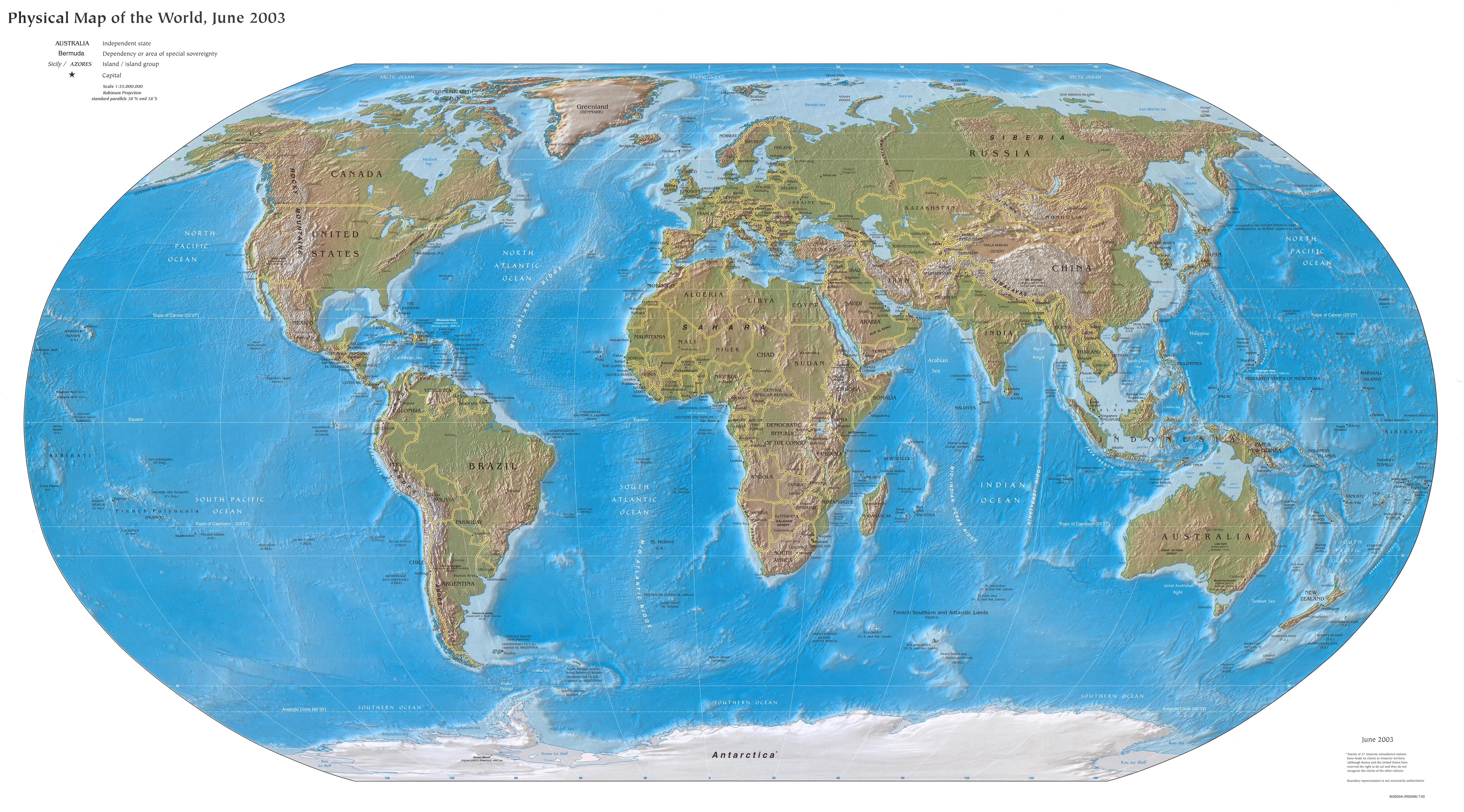 Online map of physical world printable map of physical world gumiabroncs Choice Image